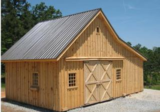 Barns and Barn Kits, Sheds, Garage, Carriage House and Horse Barns