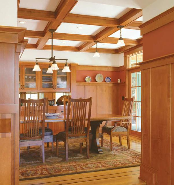 Arts U0026 Crafts Kitchens And Baths In Lincoln, Nebraska: Craftsman Room  Mouldings. Click