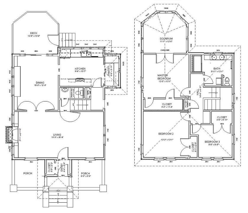 Four Square House Plans American Foursquare House Style | Hubpages
