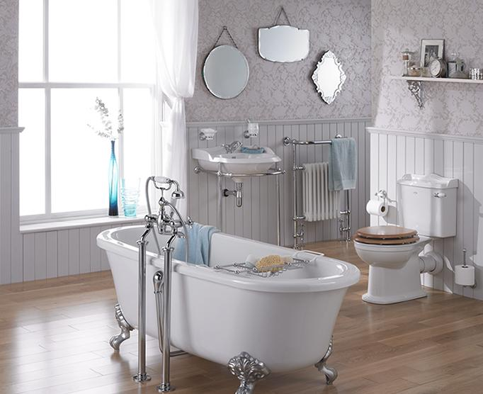 St James Bath Click To Enlarge A Victorian Bathroom Reproduced With Fixtures