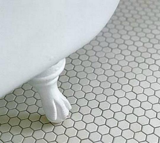 Stone Tile Victorian Flooring