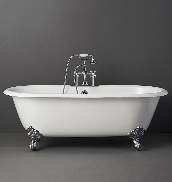 Ute lubosch for Built in clawfoot tub