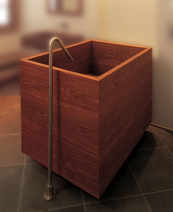 traditional japanese soaking tub. traditional japanese ofuro \u2014 one of the variety deep soaking tubs. tub