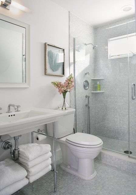 Getting More Bathroom Space