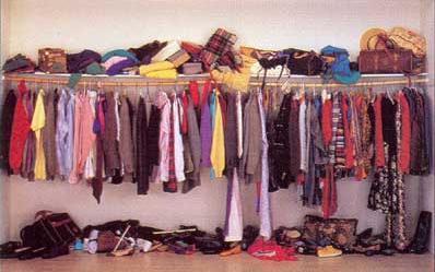 Closet Organization U0026 Design In Lincoln, Nebraska: Cluttered Closet