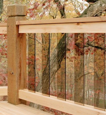 The deck handbook part 11 the almost maintenance free deck deck design and deck building lincoln nebraska glass balusters malvernweather Image collections