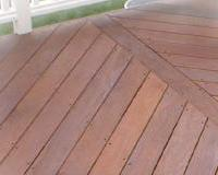 Split Diagonal Decking Pattern