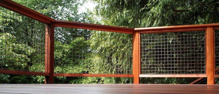 Generous Galvanized Welded Wire Fabric Railings Images