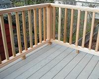 Straight Decking Pattern
