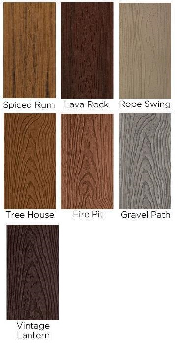 Trex transcend decking colors search results fun for Composite decking colors available