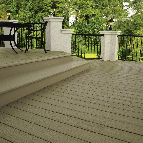 Evergrain decking material prices evergrain composite for Composite decking material reviews