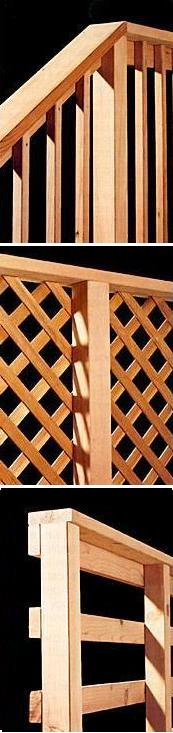 Wood Railing Types