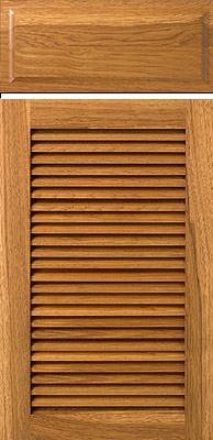 Unfinished Louvered Cabinet Doors, Kitchen, Bathroom, Pantry, Cupboard