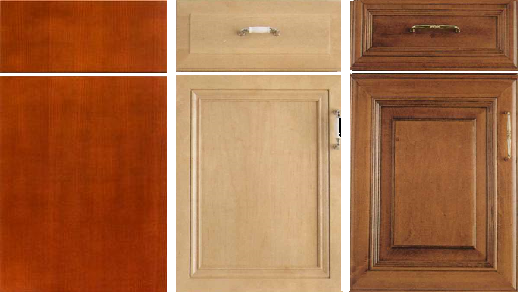 Kichen And Bath Cabinet Doors And Drawers Cabinet Door Styles Click To Enlarge Click To Enlarge The Three Basic Cabinet Door