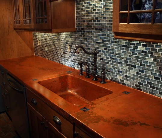 Lovely Kithen U0026 Bath Remodeling In Lincoln, Nebraska. Kitchen And Bath Countertops:  Stainless Countertop Copper ...