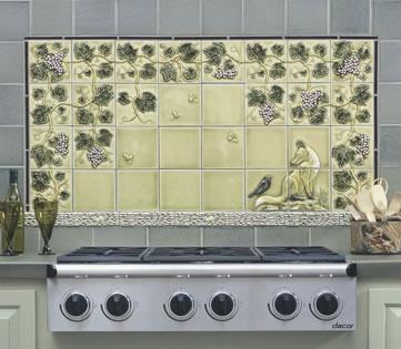 Kitchen Tiled Backsplash