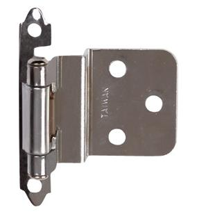 Offset Or Semi Concealed Hinge For A Lipped Door.