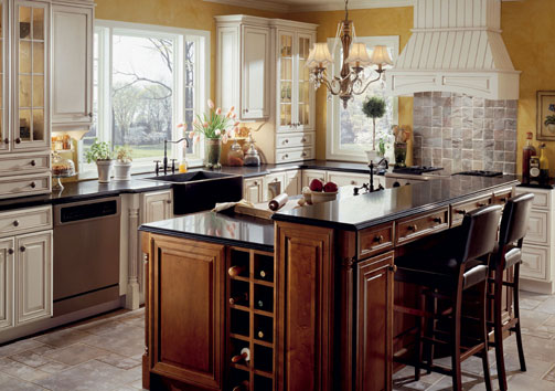 design for home colonial styles kitchen design idea