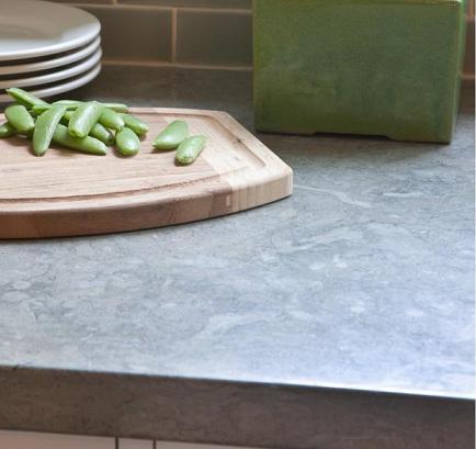 Kitchen And Bath Remodeling In Lincoln, Nebraska. Limestone Countertop,