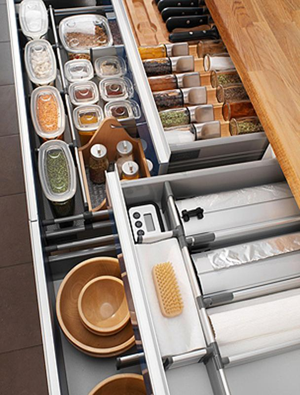 Some Cabinet Organizers Can Be Added Later Using After Market Products That Are Often Less Expensive Than Built In Organizers