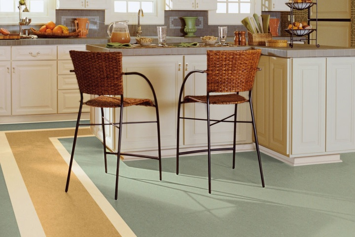 Flooring Options for Kitchens & Baths