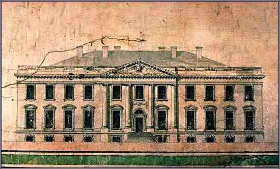 Hobart's winning design for the Executive Mansion