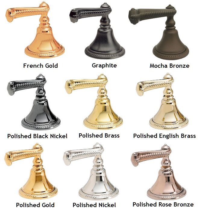 faucet finishes
