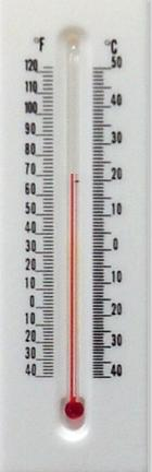 Window Restoration or Window Replacement: Thermometer.